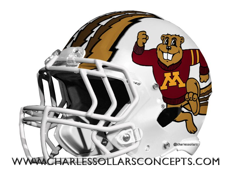 Minnesota Golden Gophers Helmet Football Helmets College Football Helmets