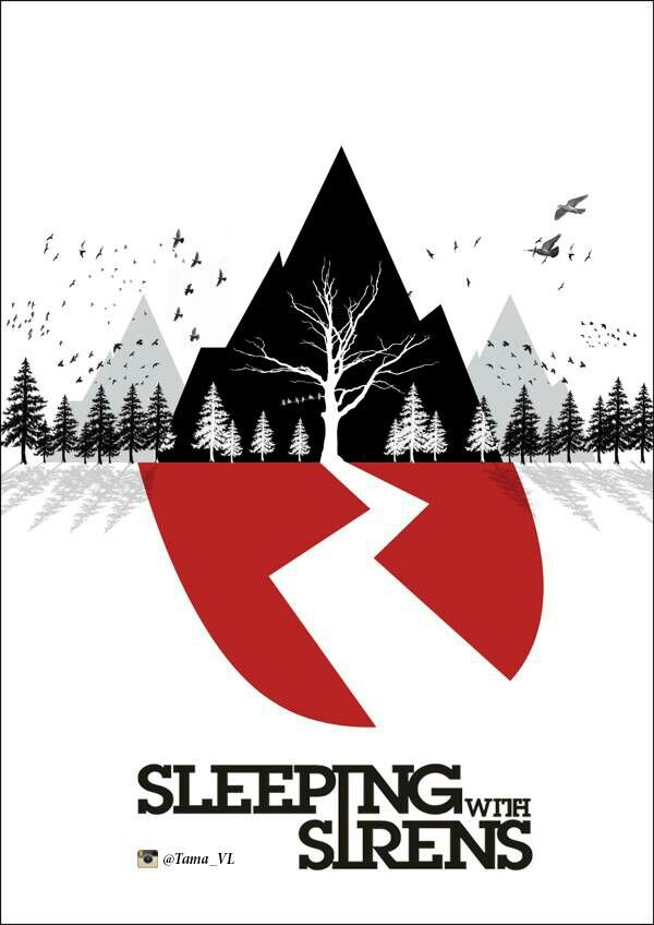 sleeping with sirens logo sws pinterest sirens band