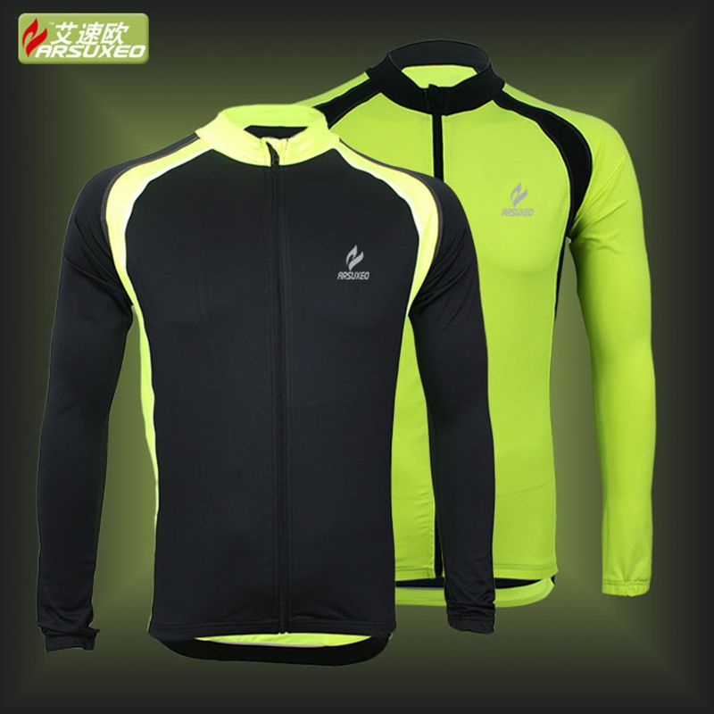 New ARSUXEO Outdoor Sports Cycling Jersey Spring Summer Bike Bicycle Long  Sleeves MTB Clothing Shirts Wear Bike Jersey  Affiliate eecc360c5