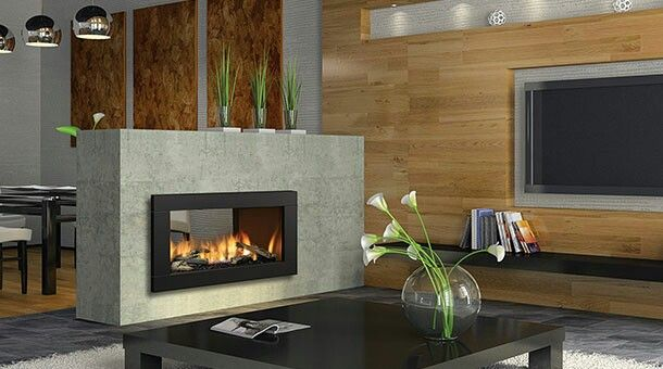 Regency horizon hz42ste double sided fireplace in our new house