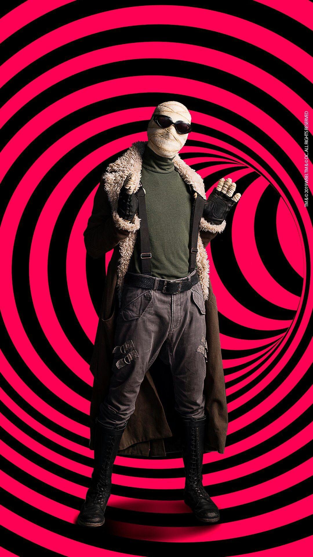 Doom Patrol Larry Trainor Cosplay Costume Jacket Trench Coat Men Cosplay Costu @
