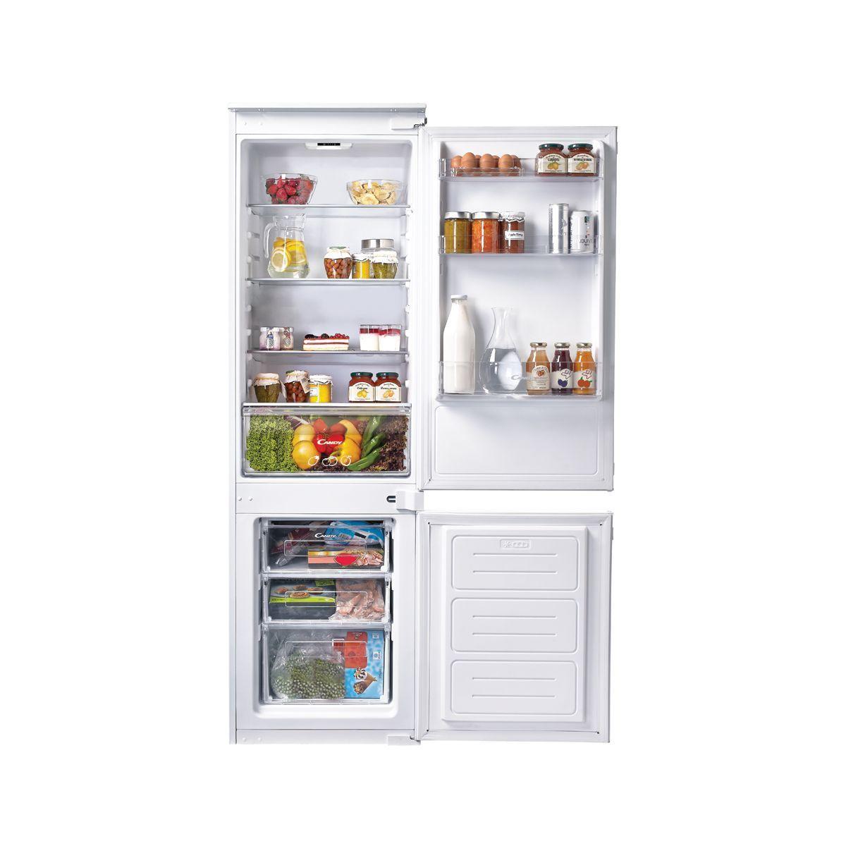 Refrigerateur Integrable Congelateur En Bas Ckbbs100 Candy Webdistrib Com Congelation Frigo Refrigerateur