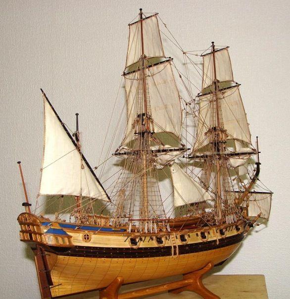 Модели парусных кораблей ручной работы бархат на бумажной основе