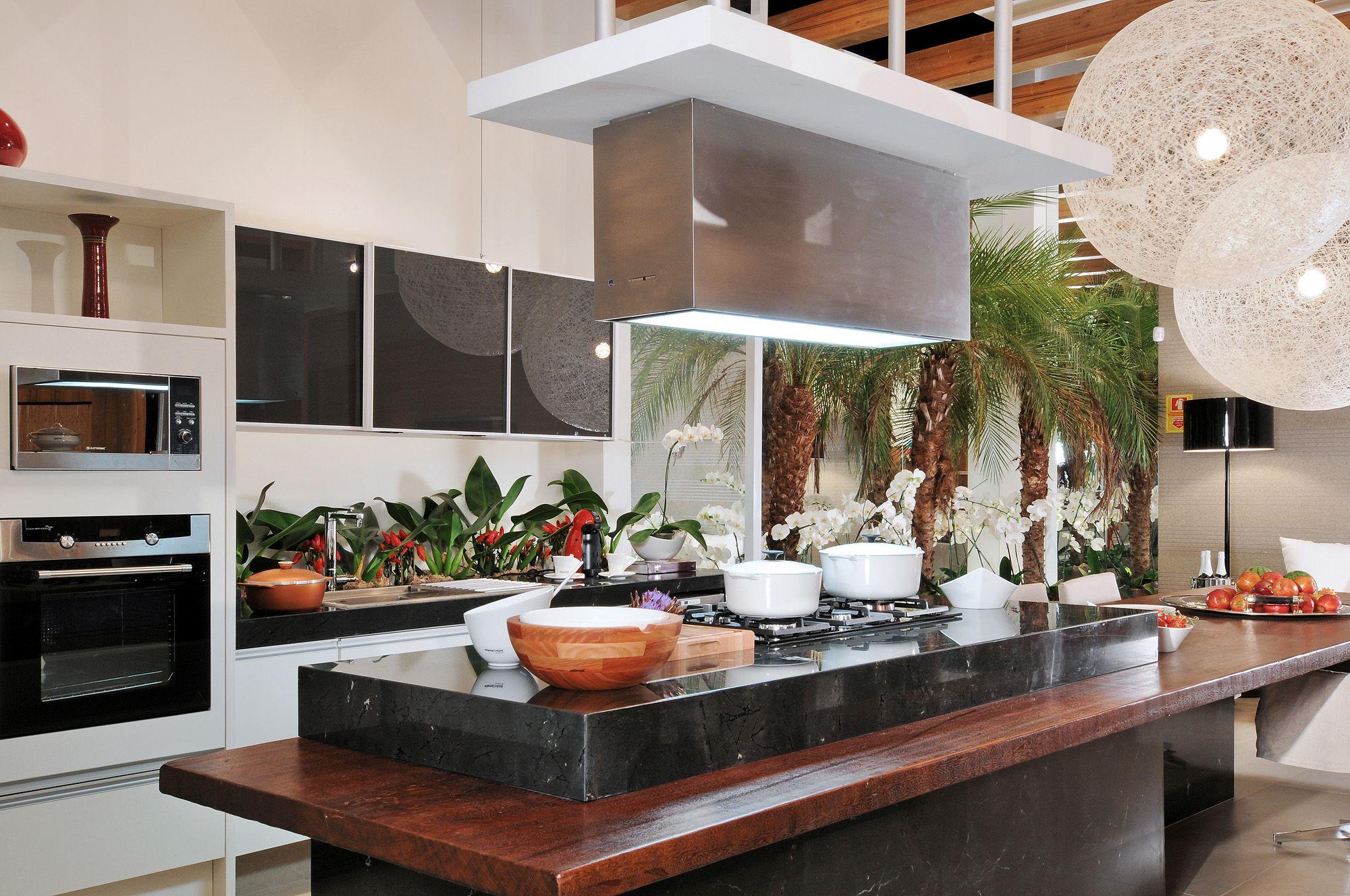 Sala E Cozinha Juntos A Cozinha Tambm Um Espao Social Imagem  -> Sala E Cozinha Juntas Como Decorar