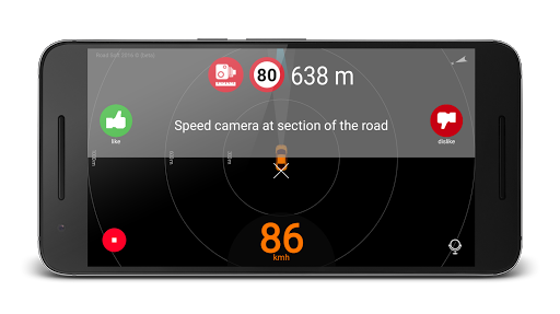 Speed Camera Radar screenshots 1 Red light camera, Radar