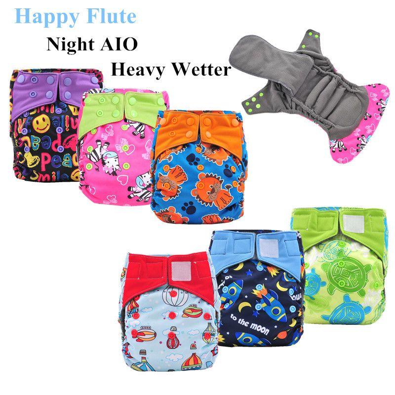 8e03e0e8 Find More Baby Nappies Information about Happy Flute Night AIO Cloth ...
