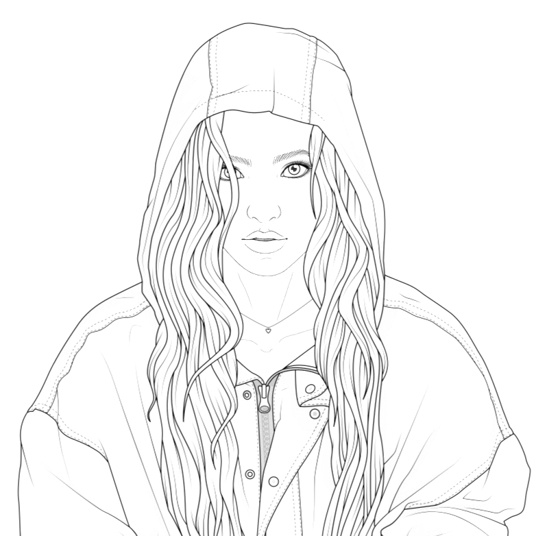 Pin By Danka Tak On 16 People Coloring Pages Tumblr Coloring Pages Outline Art