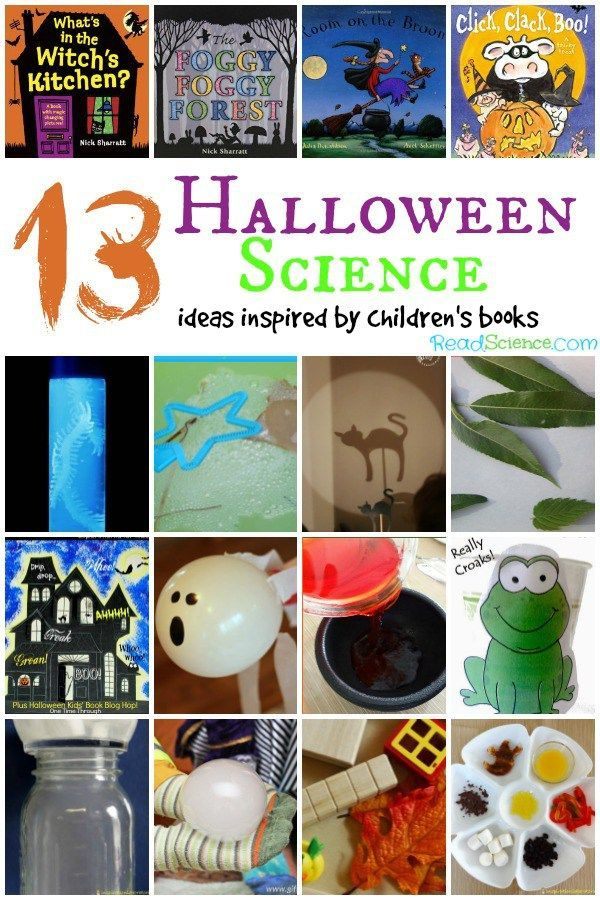 13 Halloween Science Activities Inspired by a Book Halloween - halloween activities ideas