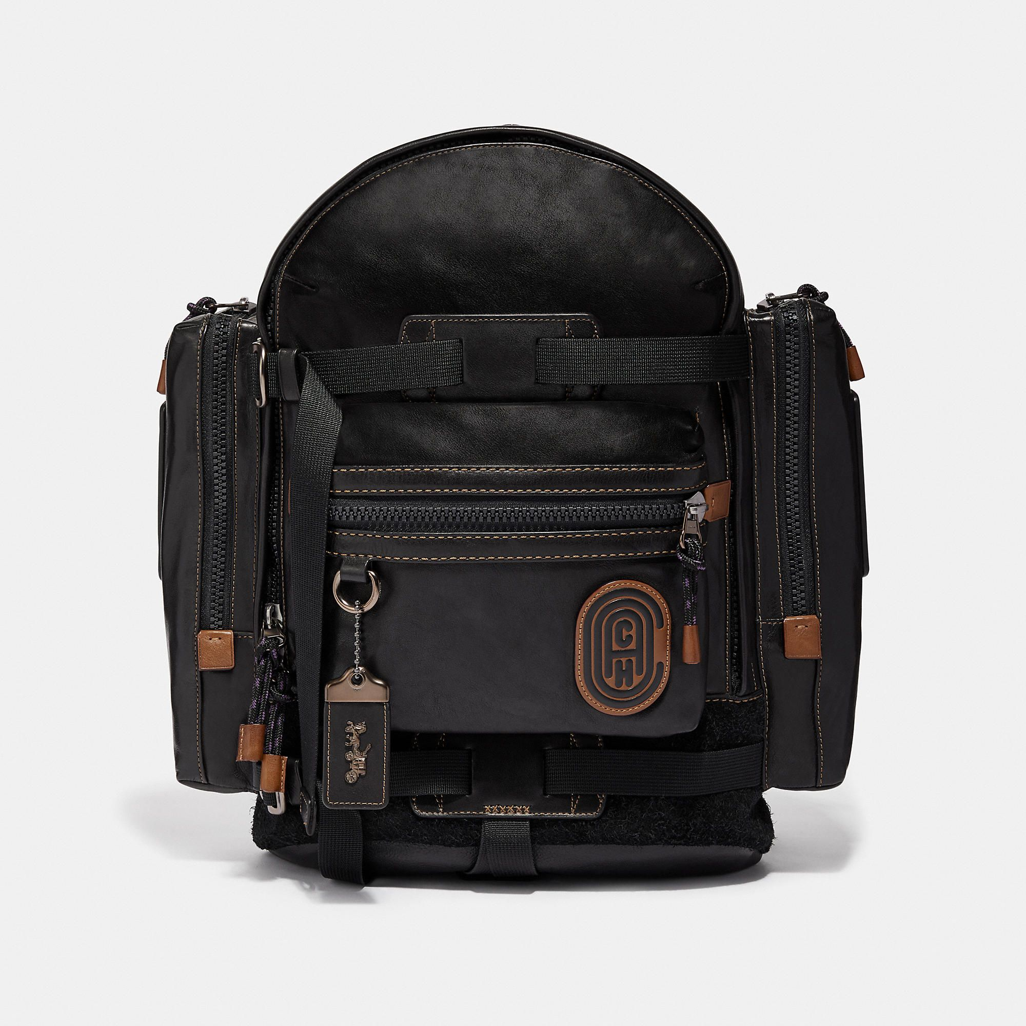 80009156522a COACH COACH RIDGE BACKPACK WITH PATCH - MEN S.  coach  bags  lining   backpacks  suede