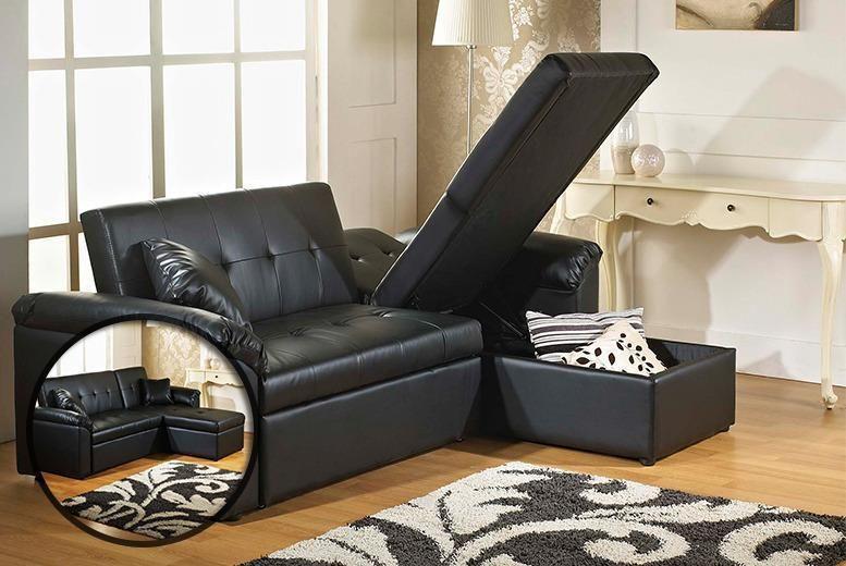 3 In 1 Corner Sofa Storage Bed Corner Sofa With Storage Bedding Shop Sofa