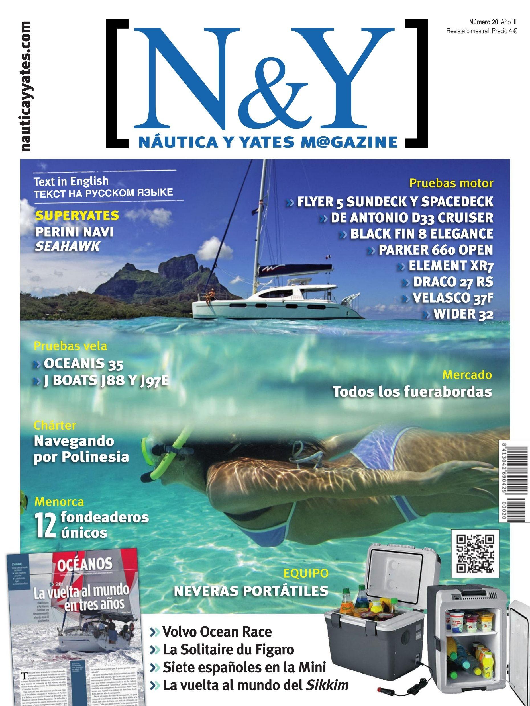 N&Y #Náutica y #Yates Magazine 20. Sikkim:La vuelta al mundo en tres años. MiniTransat2015.