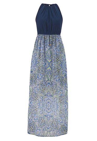 c47144a3bd2b maxi dress in paisley print  maurices