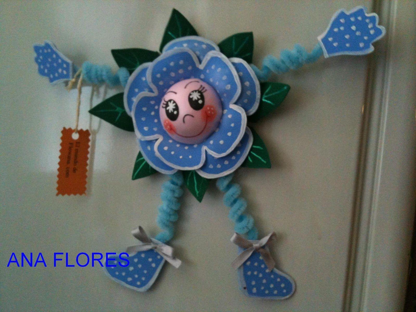 Imán flor
