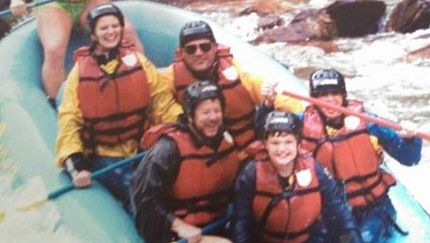 White Water Rafting  Ocoee River, TN