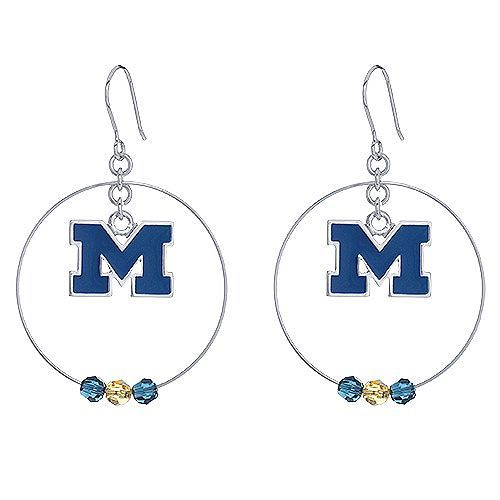 U of M Style Earrings