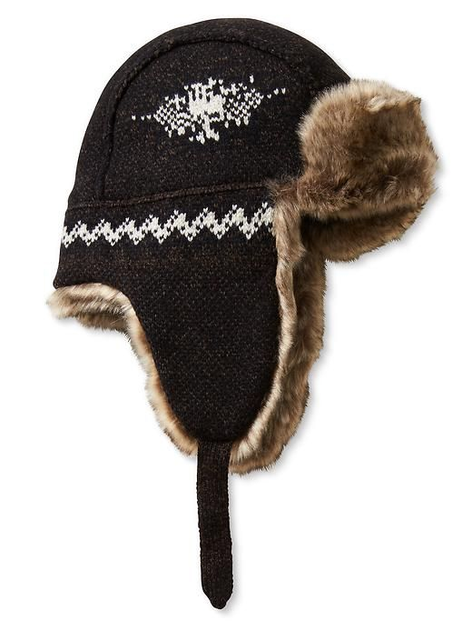 Heritage Fair Isle Trapper Hat Product Image | MENS ^ FASHION ...