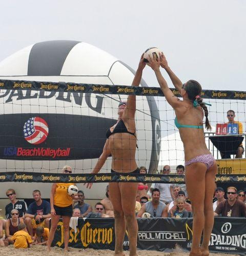 Manhattan Beach Open Returns This Week Beach Volleyball Ventura Beach