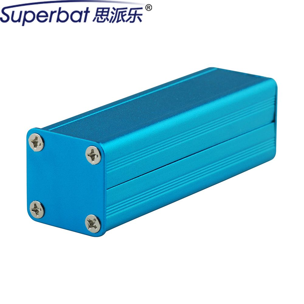 ">> Click to Buy << Superbat 80*24.5*24MM Blue Extruded Aluminum Enclosure Case Screw Junction Box PCB Instrument Electronic DIY 3.15""*0.96""*0.94"" #Affiliate"