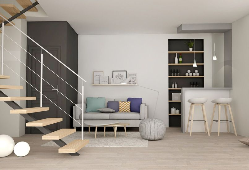 Jeux de niveaux - Plateau - loft - atelier - aménagement