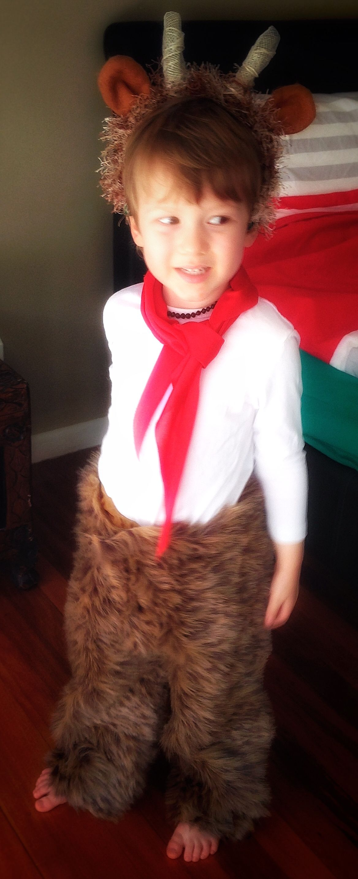 Mr Tumnus from Narnia DIY costume for toddlers to celebrate 2015 ...