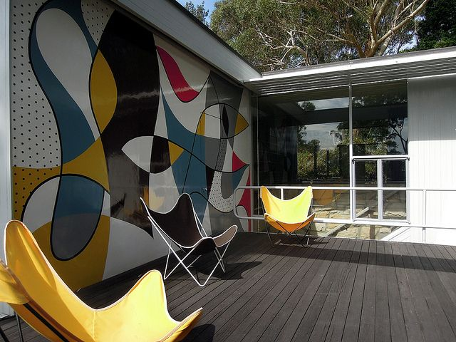 Used In The Modernist Rose Seidler House Sydney U003eu003c BKF Hardoy Butterfly  Chair U003eu003c