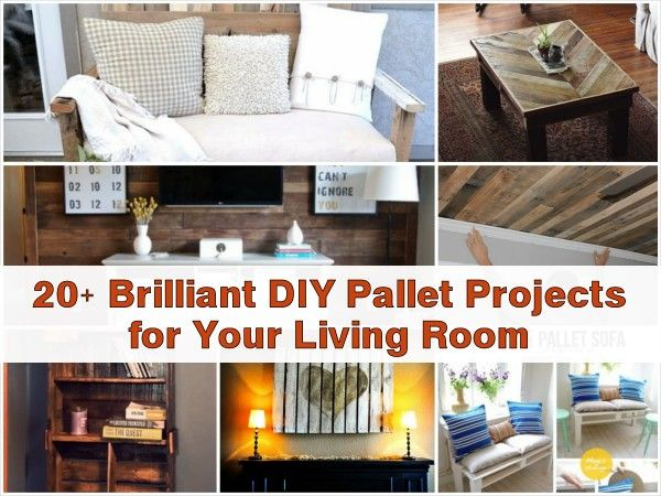20 brilliant diy pallet projects for your living room new uses 20 brilliant diy pallet projects for your living room solutioingenieria Images