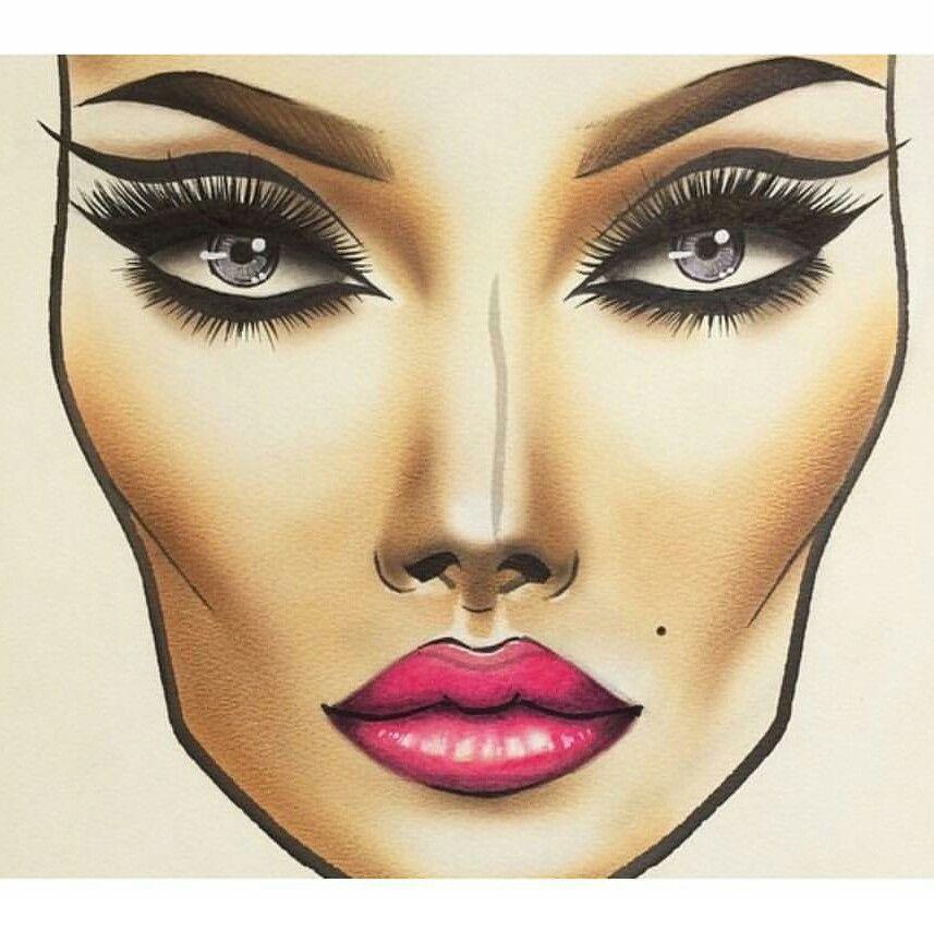 Make-up tutorials | Makeup charts, Hand makeup, Makeup ...