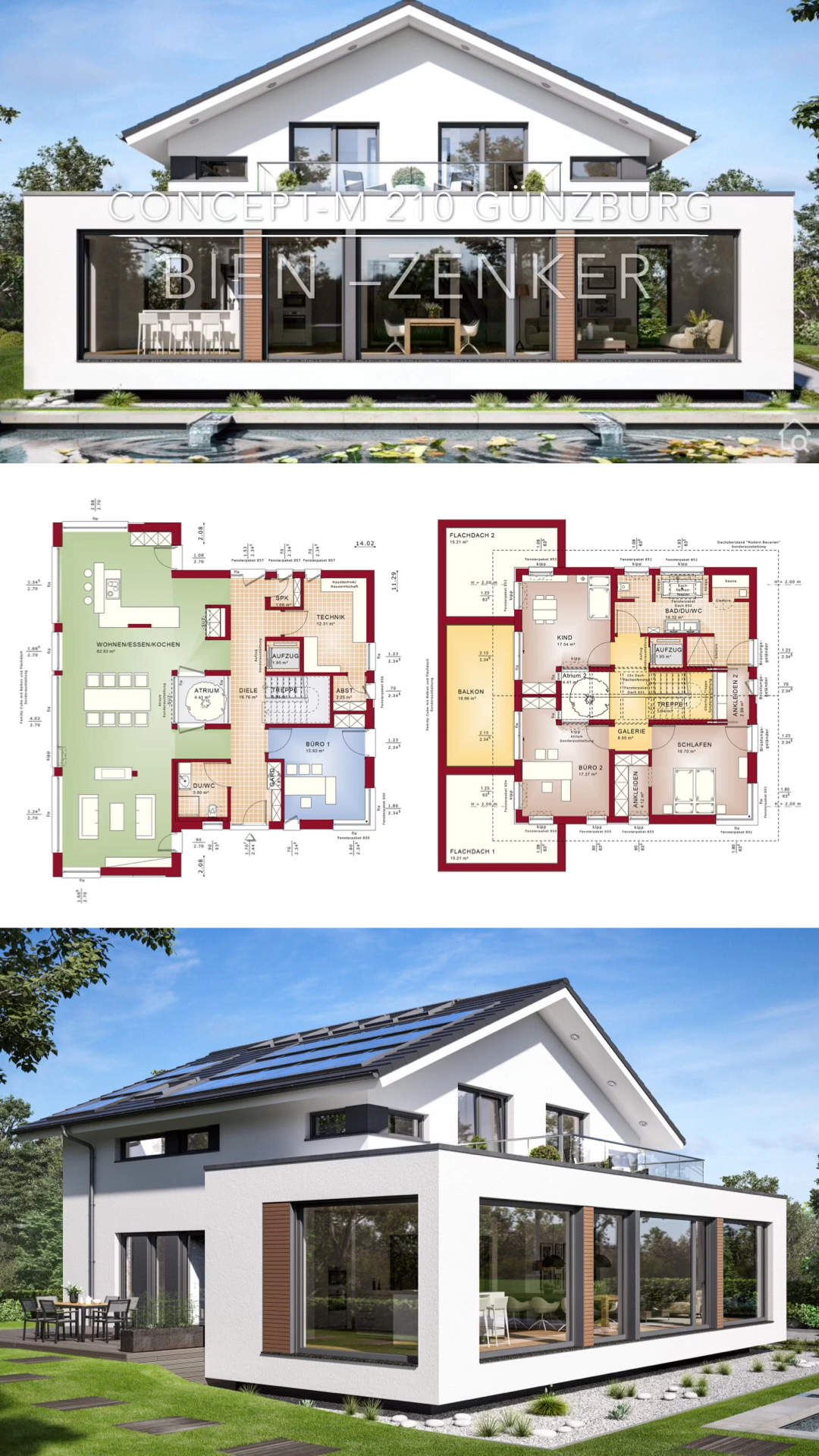 Photo of Modern Architecture House Plans with Gallery & Interior Design Ideas