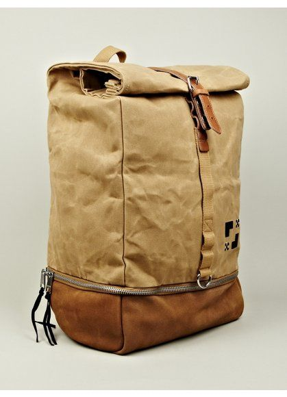 EASTPAK X WOOD WOOD  AMOS SINGLE STRAP BACKPACK