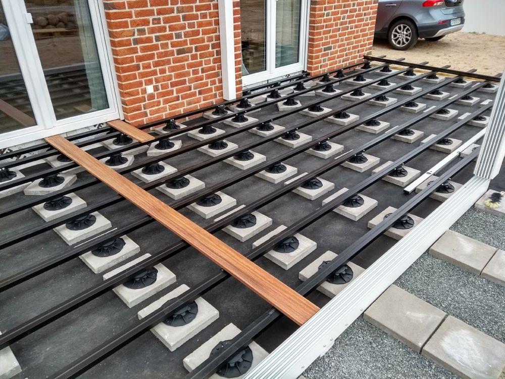 Kahrs Aluminium Unterkonstruktion 31x60 Mm 00084405 In 2020 Unterkonstruktion Aluminium Terrasse Unterkonstruktion