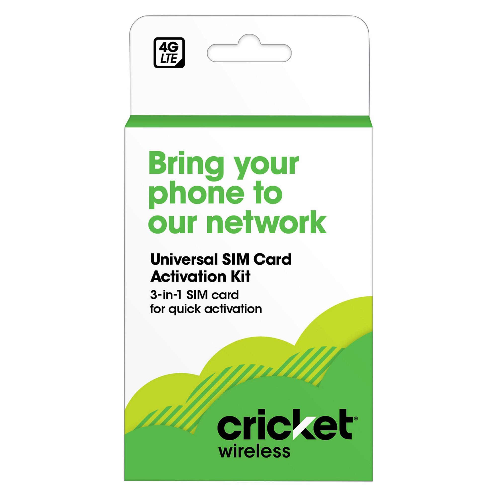 Cricket Byod Sim Kit Sim Cards Sims Cricket Wireless Buy Phones