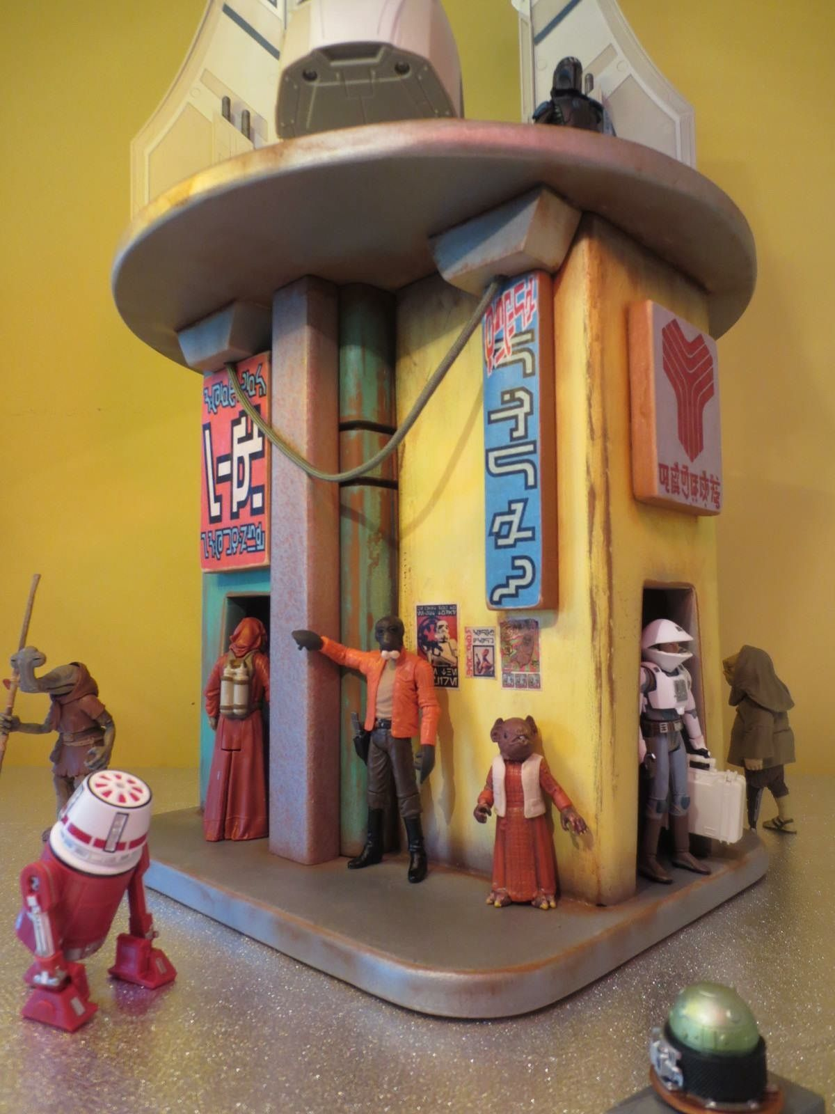 Pin by Ethan Halo on Dioramas and Doll Houses   Star Wars, Custom