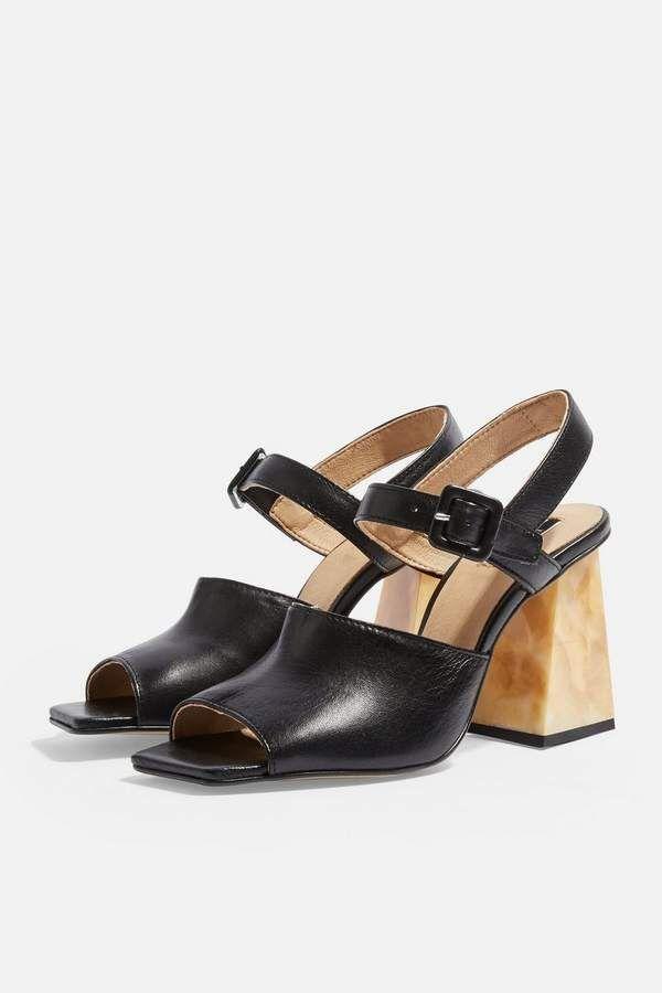 Topshop NIEVE BLOCK High Heel Sandalette white