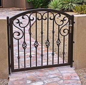 Like This Gate To Iron Entry Gates Design Security Doors Screens Wrought Storm
