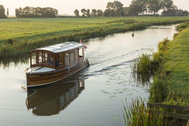Hedendaags salonboot notarisboot uit 1923 te koop op Botentekoop.nl | Bootje SZ-88