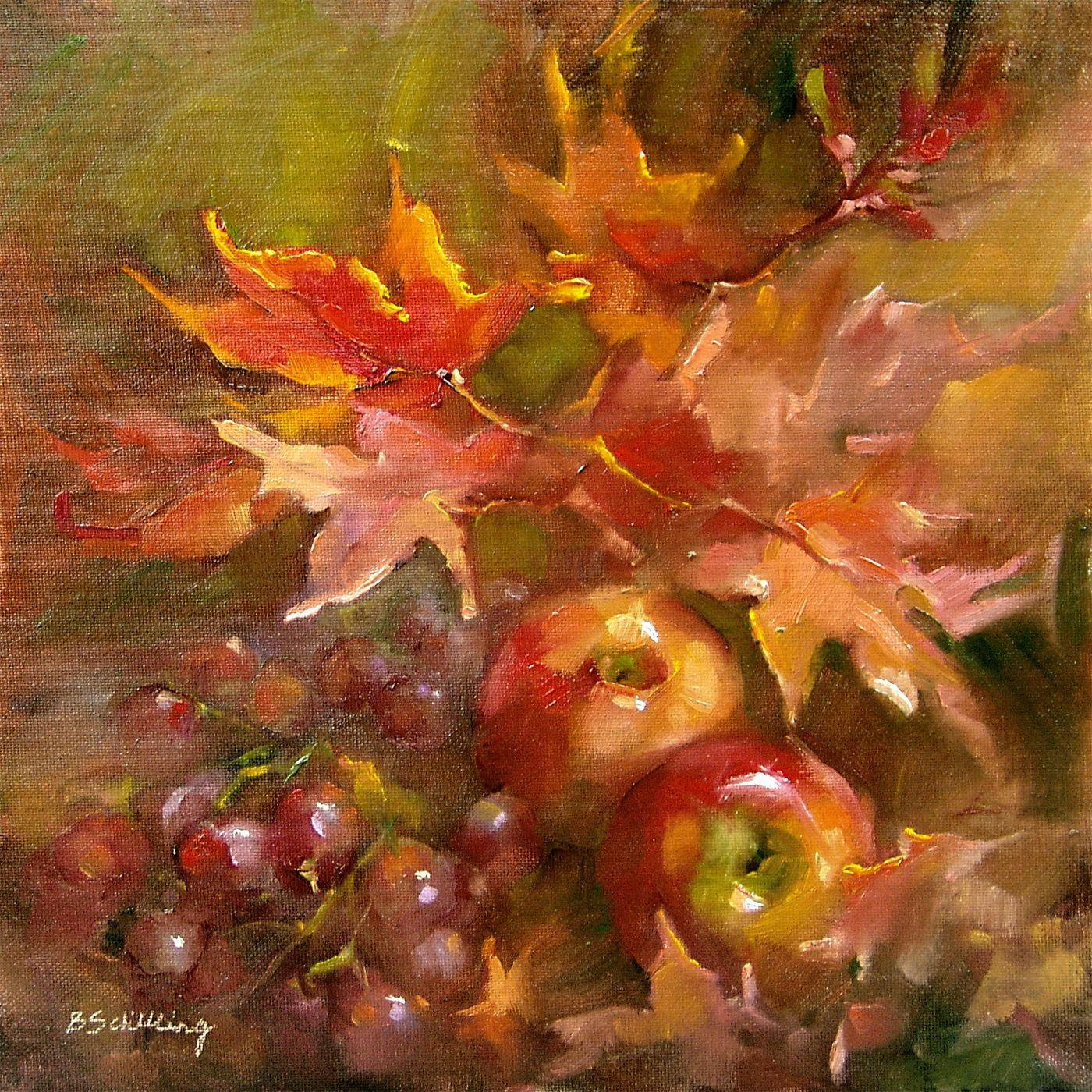 """Barbara Schilling, """"Fall's Fire"""""""