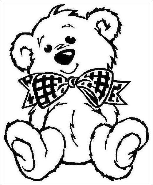Teddy Bar Malvorlagen Ausmalbilder Zum Ausdrucken Ausmalbilder Teddybr Zum Ausdrucken Teddy Bear Coloring Pages Bear Coloring Pages Cartoon Coloring Pages