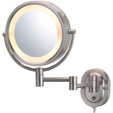 Beauty Lighted Wall Mirror Wall Mounted Makeup Mirror Wall
