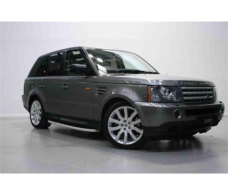 2009 Land Rover Range Rover Sport (l320, 20052013) for