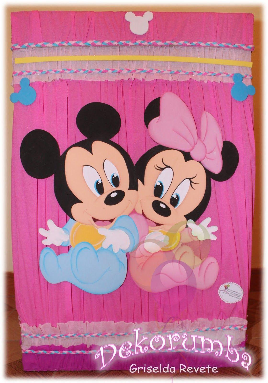 Dekorumba: Caja de Regalos de Minnie Bebe | mimi y mickey ...