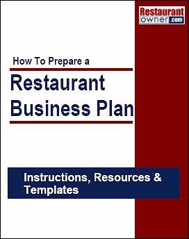 How To Prepare A Restaurant Business Plan Business Concept - Business plan template cafe