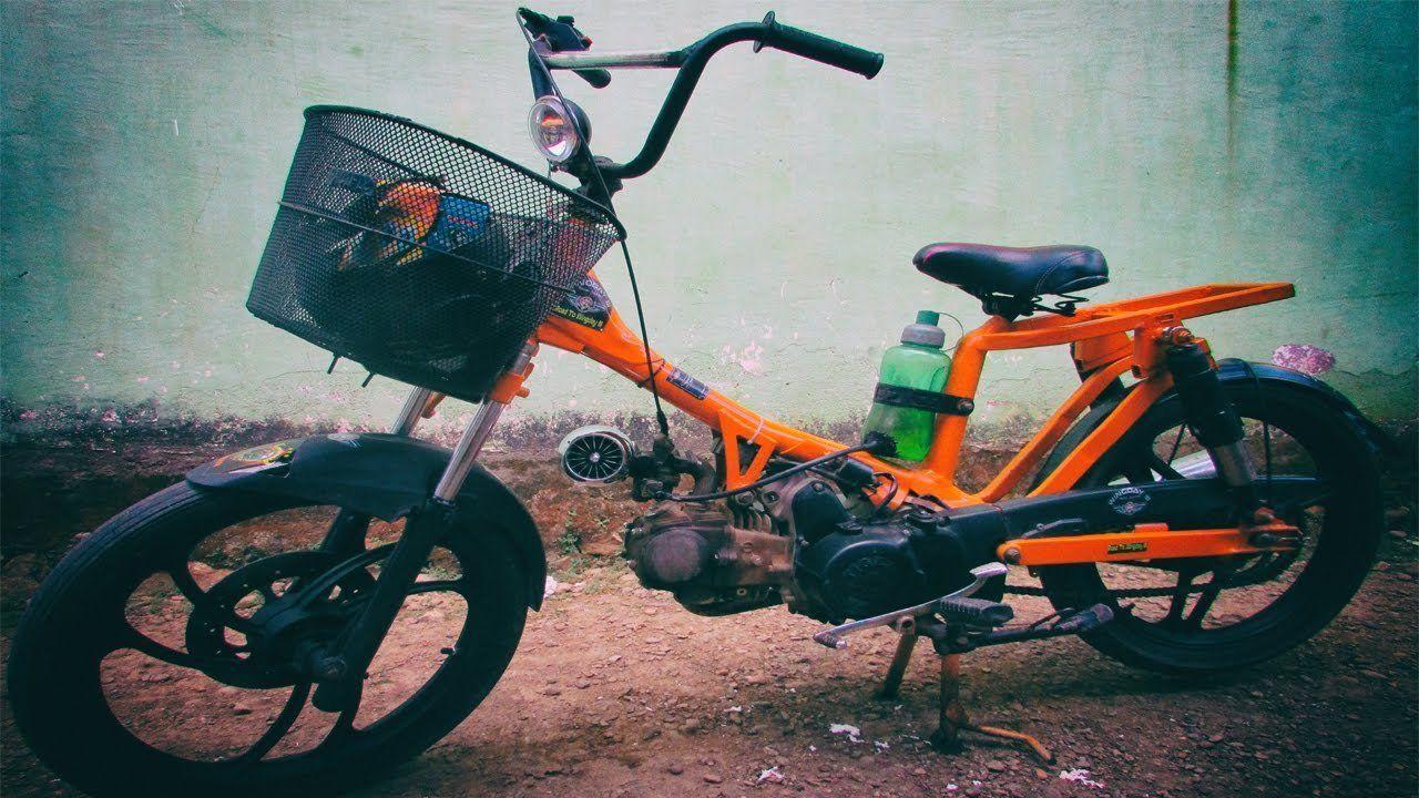 Pin Di Modifikasi Motor Bebek