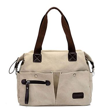 Charming Canvas Casual Top Handle Bags(More Colors)