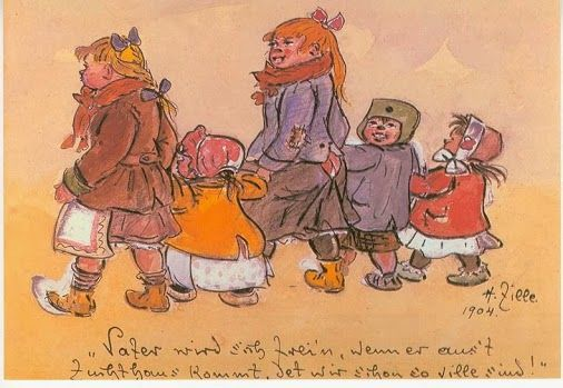 10 January 1858, the illustrator, photographer and painter Heinrich Zille was born in Radeburg.