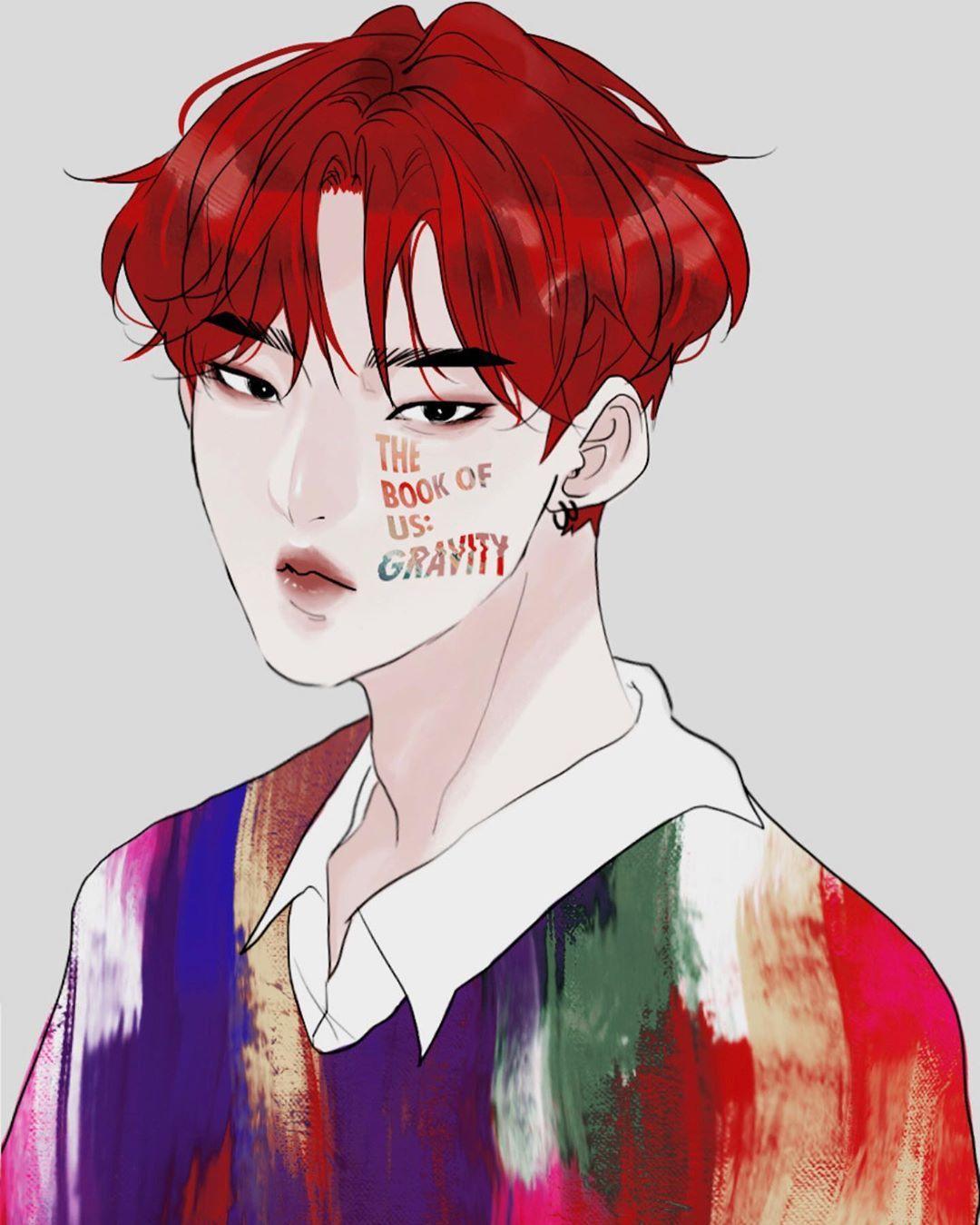 Jjolee Ok Webcomic Artist On Instagram Why Do I Keep Drawing Boys With Red Hair Day6fanart Day6 Youngk Butactuallybr Kpop Fanart Fan Art Drawings