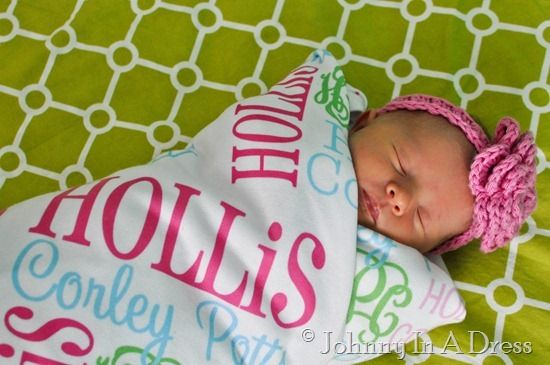 Swaddling And Receiving Blankets Beauteous Personalized Baby Blanket Swaddlemonogrammed Marketplace  Gifts Review