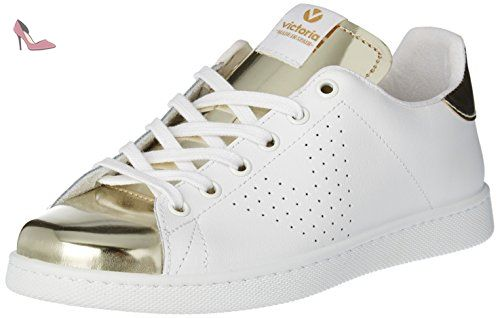 Deportivo Charol, Baskets Basses Femme, Or (Oro), 37 EUVictoria