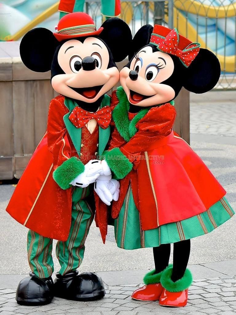 Christmas Minnie Mouse Disneyland.Mickey And Minnie Mouse Christmas Disney Pixar Muppets