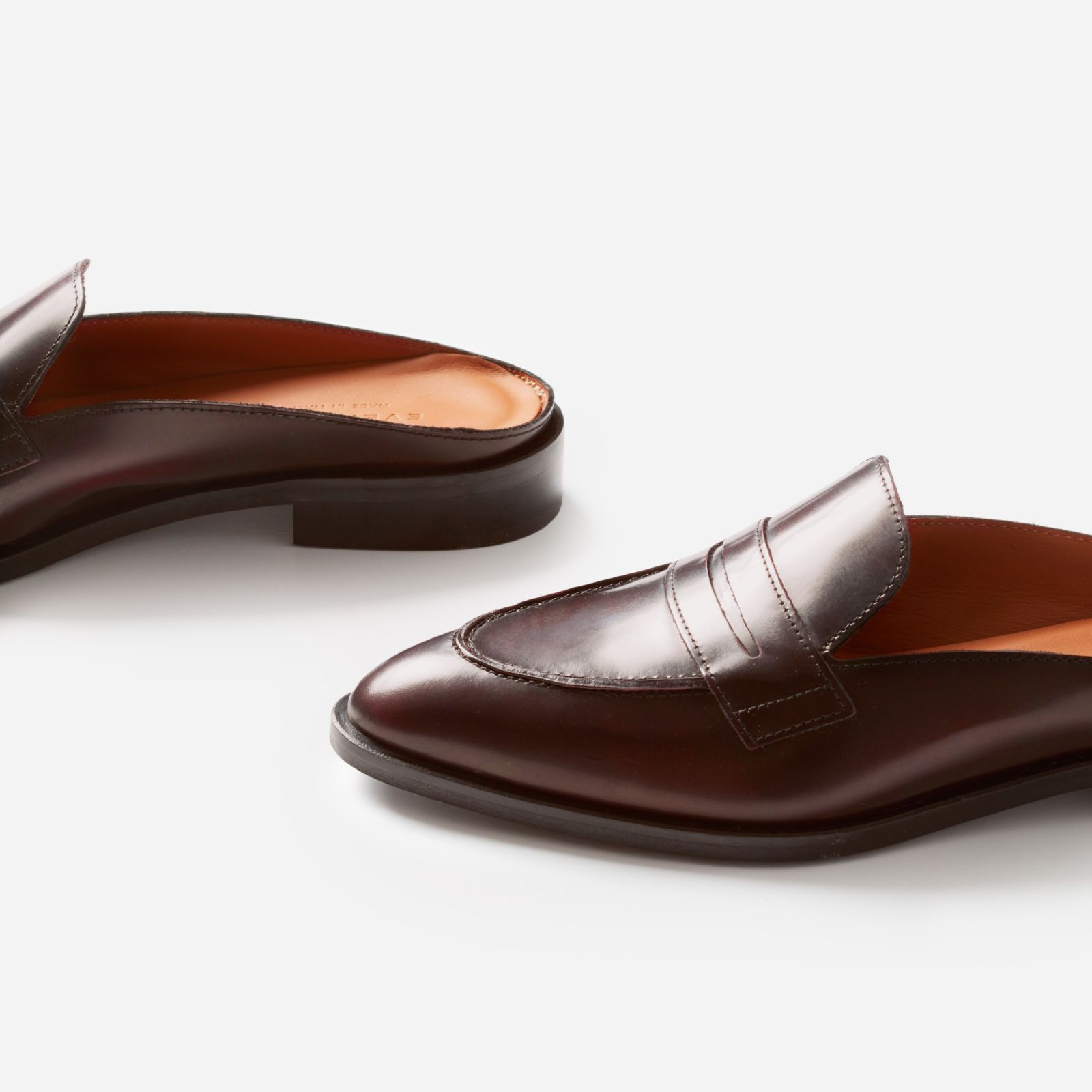 2ce577daf75 Women s Penny Loafers Mule by Everlane in Burgundy