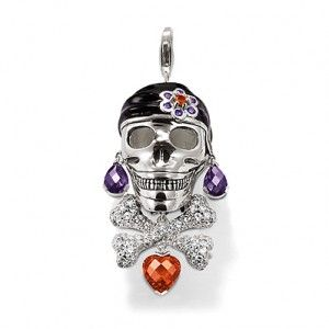 Thomas sabo pirate skull crossbones pendant day of the dead thomas sabo pirate skull crossbones pendant mozeypictures Image collections